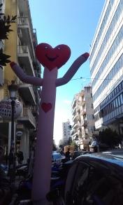 Valentine's day says 'Hi!'