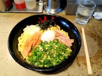 Abura ramen. In these chain shops every bowl size costs the same. I ordered the biggest and I couldn't finish it in any way