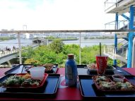 Takoyaki from the takoyaki museum in odaiba. It even has a tako shrine!