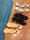 Zoori sandals (for the kimono)