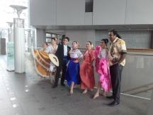 Some Peruvian ultra cool dance crew